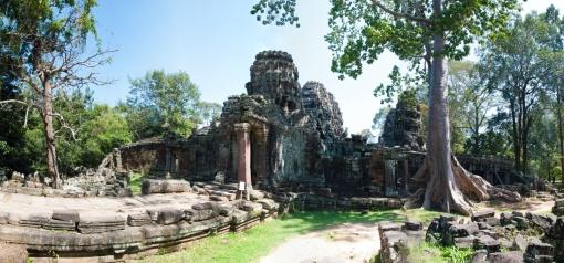 Bateay Kdei temple.